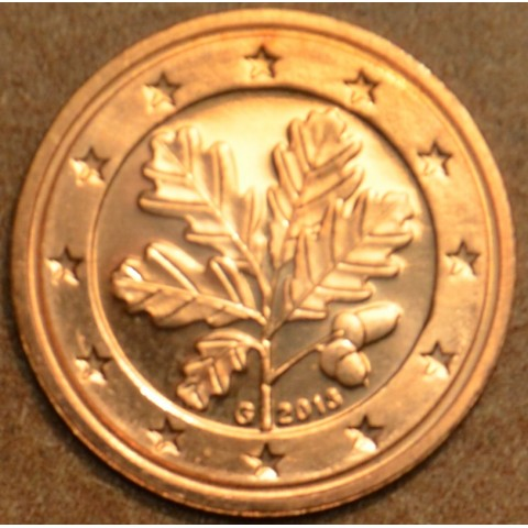 """2 cent Germany """"G"""" 2013 (UNC)"""