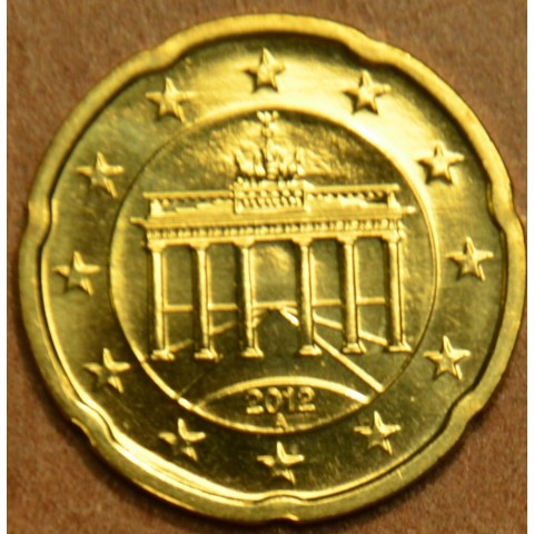 """20 cent Germany """"A"""" 2012 (UNC)"""