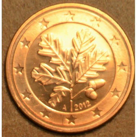 """2 cent Germany """"A"""" 2012 (UNC)"""