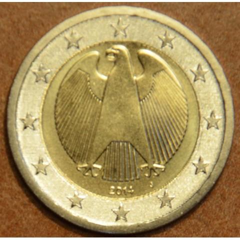 "2 Euro Germany ""J"" 2014 (UNC)"