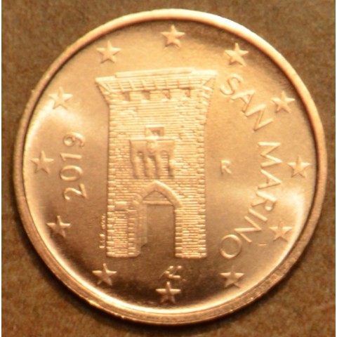 2 cent San Marino 2019 - New design (UNC)