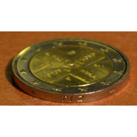 2 Euro Belgium 2014 - 150th Anniversary of the Red Cross error coin NL (UNC)