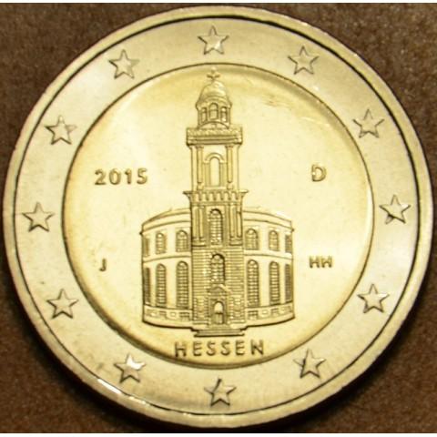 "2 Euro Germany ""J"" 2015 - Hessen: St. Paul church (UNC)"