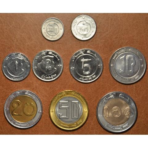 Algeria 9 coins 1992-2003 (UNC)