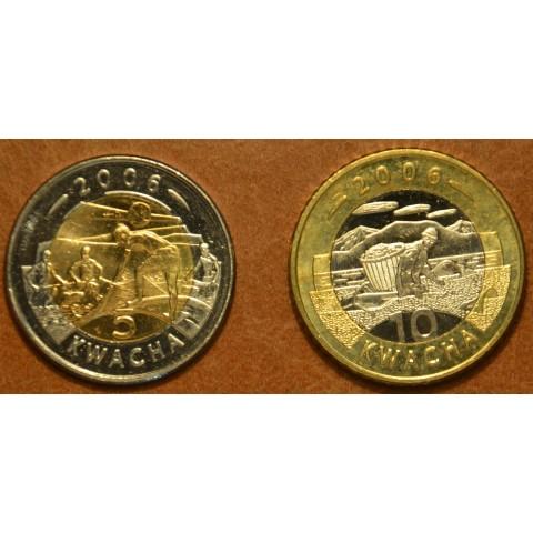 Malawi 2 coins 2006 (UNC)