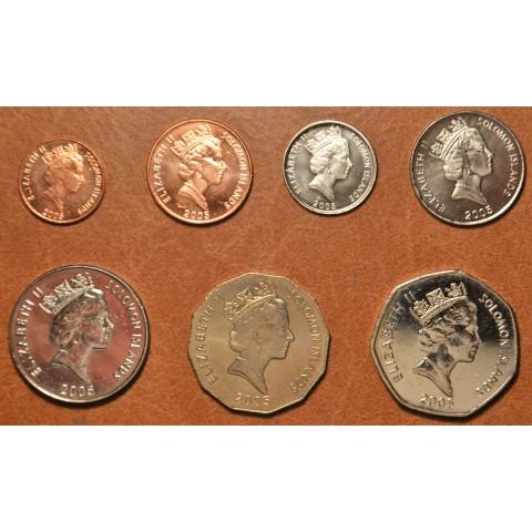 Solomon islands 7 coins 2005 (UNC)