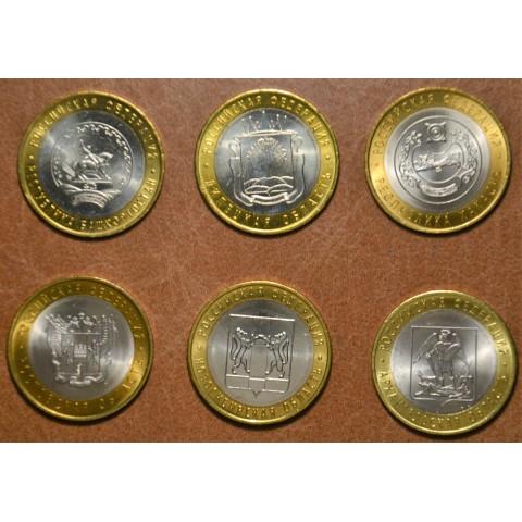 Russia 6x 10 Rubles 2007 (UNC)