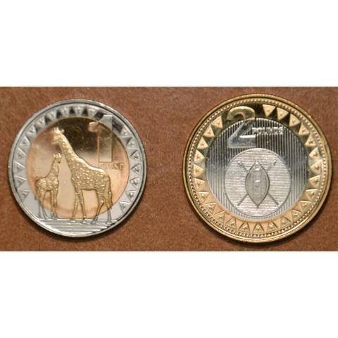 South Sudan 2 coins 2015 (UNC)