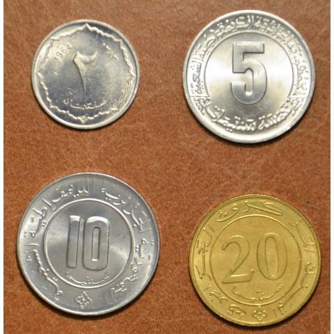Algeria 4 coins 1964-1987 (UNC)