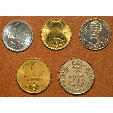 Hungary 5 coins 1990 (UNC)