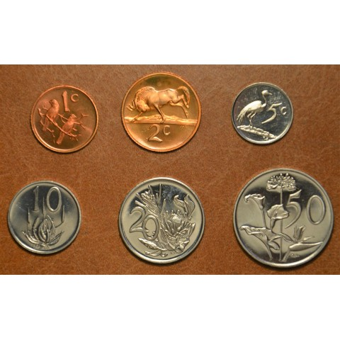 South Africa 6 coins 1974 (UNC)