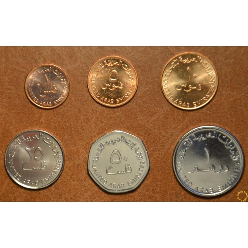 United Arab Emirates 6 coins 1996-2011 (UNC)