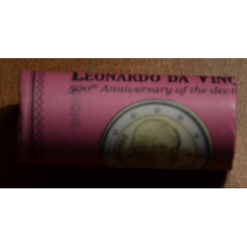 2 Euro Italy 2019 - Leonardo da Vinci (25xUNC)