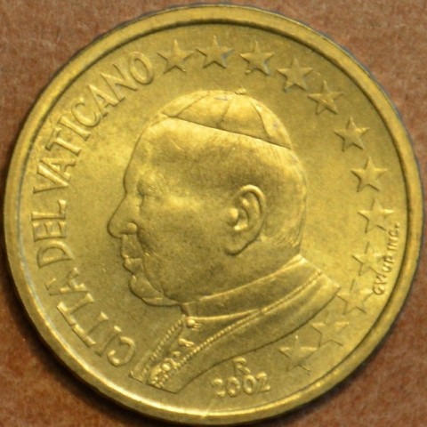 50 cent Vatican His Holiness Pope John Paul II 2002 (BU)