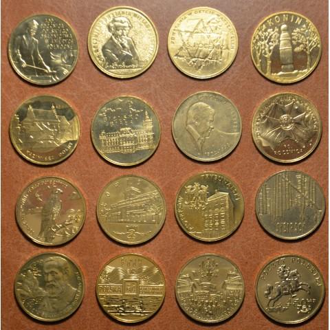 Poland 16x 2 Zloty 2008 (UNC)