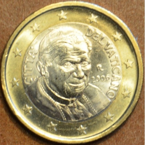 1 Euro Vatikán Benedikt XVI. 2006 (BU)