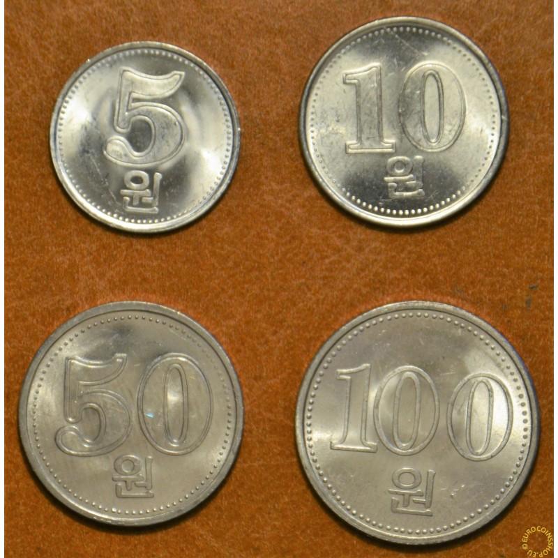 North Korea 4 coins 2005 (UNC)