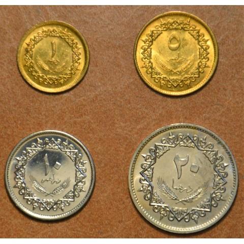Libya 4 coins 1975 (UNC)