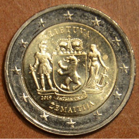 2 Euro Lithuania 2019 - ZEMAITIJA (UNC)