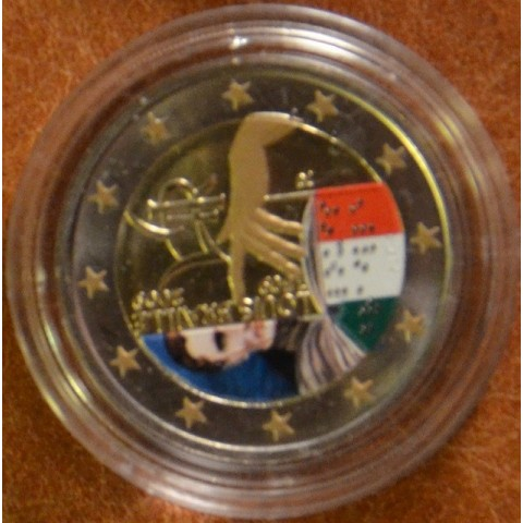 2 Euro Italy 2009 - 200th Anniversary of birth of Louis Braille (colored UNC)