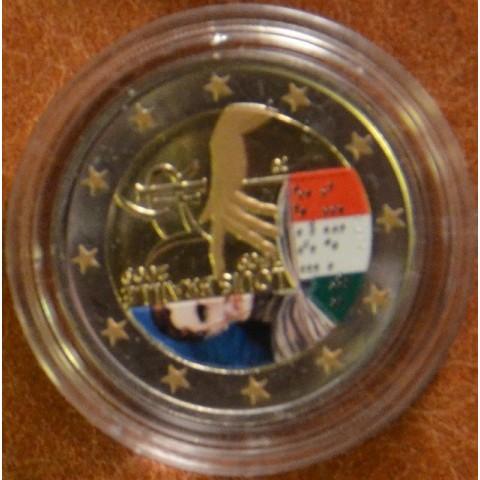 2 Euro Taliansko 2009 - 200. výročie narodenia Louisa Brailla (farebná UNC)