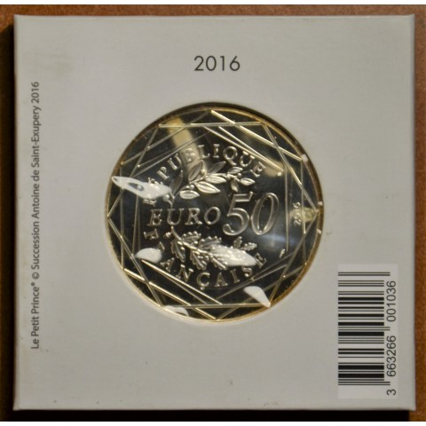 50 Euro France 2015 Le Petit Prince (BU)