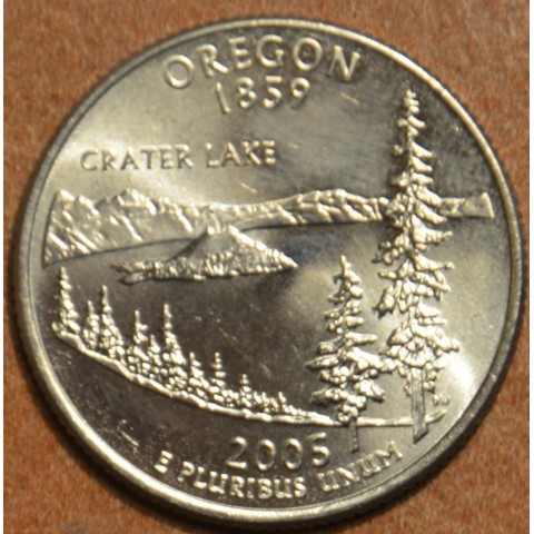 "25 cent USA ""D"" 2005 Oregon (UNC)"