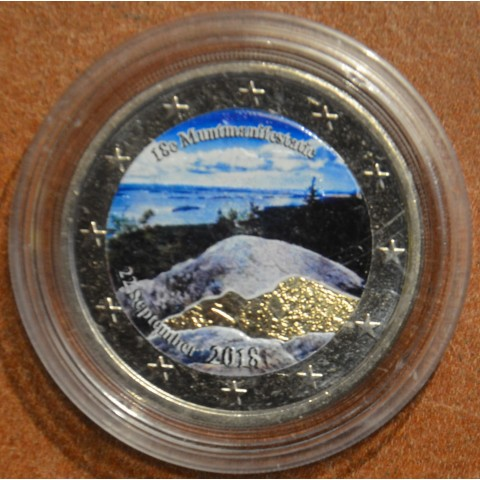 2 Euro Finland 2018 - National park Koli IV. (colored UNC)
