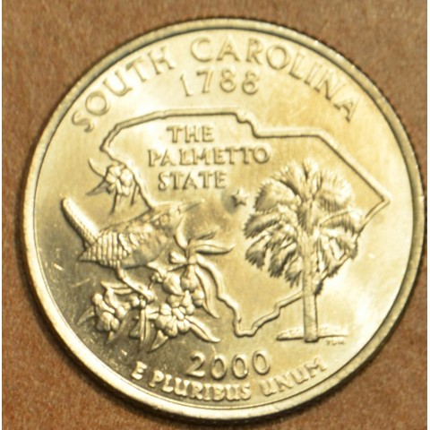 "25 cent USA 2000 South Carolina ""D"" (UNC)"