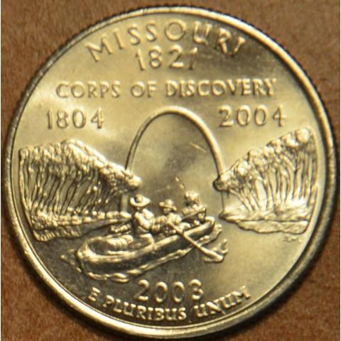 "25 cent USA ""D"" 2003 Missouri (UNC)"