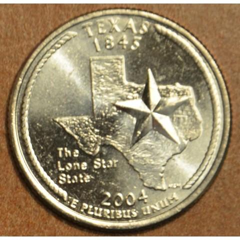 "25 cent USA ""D"" 2004 Texas (UNC)"