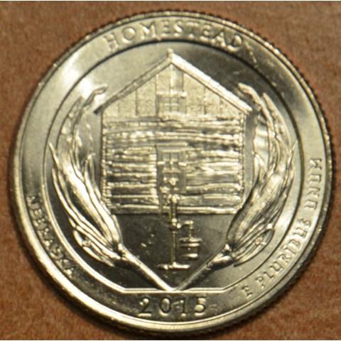 "25 cent USA 2015 Homestead ""D"" (UNC)"