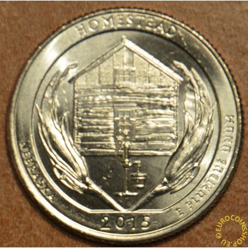 "25 cent USA ""D"" 2015 Homestead (UNC)"