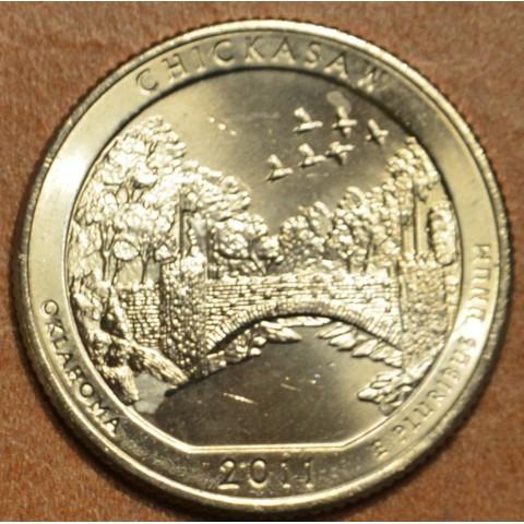 "25 cent USA 2011 Chickasaw ""D"" (UNC)"