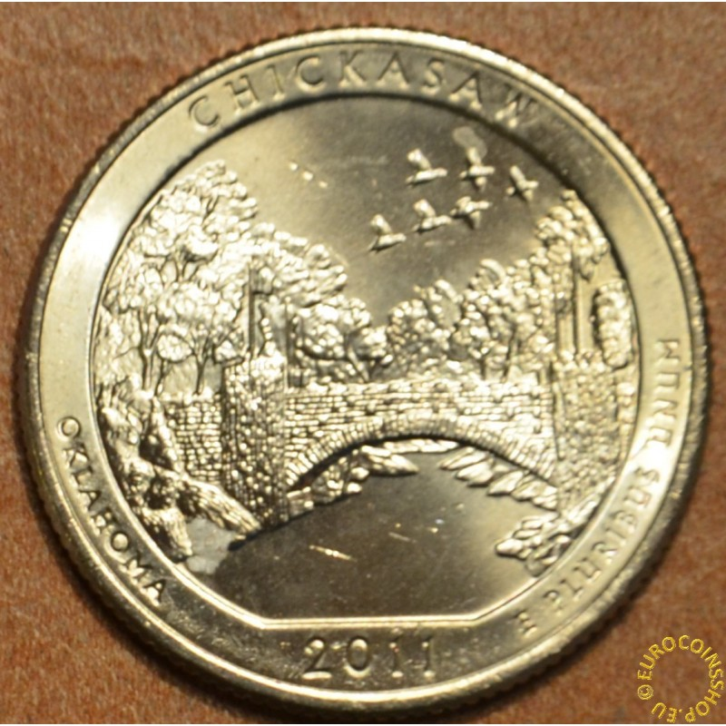 "25 cent USA ""D"" 2011 Chickasaw (UNC)"