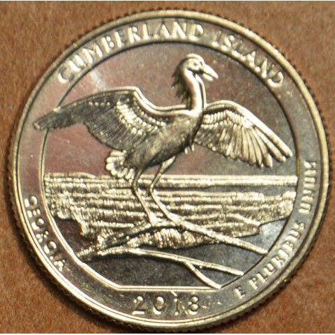 "25 cent USA ""D"" 2018 Cumberland Island (UNC)"
