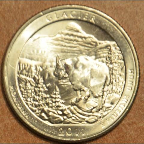 """25 cent USA 2011 Glacier """"D"""" (UNC)"""