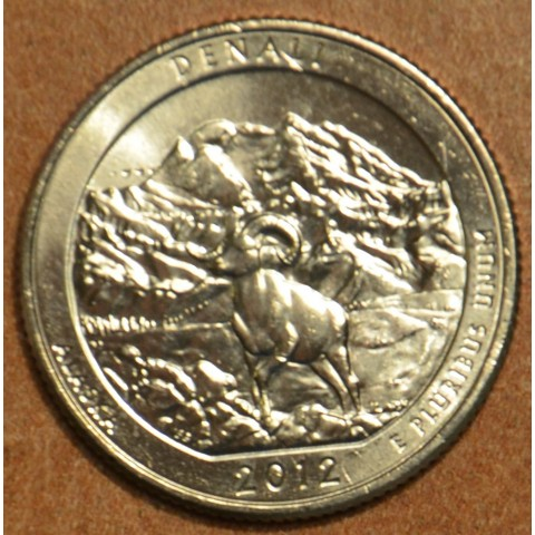 """25 cent USA 2012 Denali """"D"""" (UNC)"""