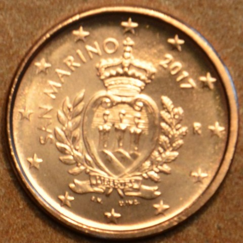 1 cent San Marino 2017 - New design (UNC)
