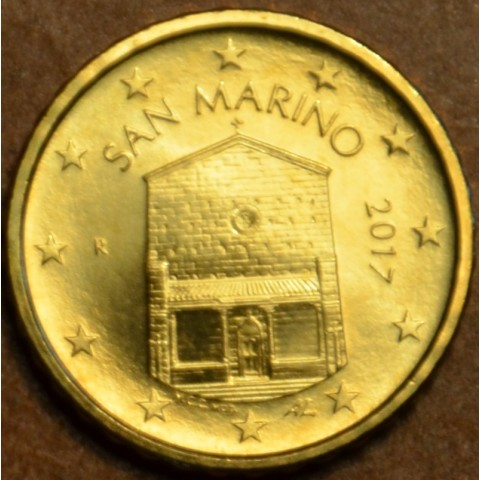 10 cent San Marino 2017 - New design (UNC)