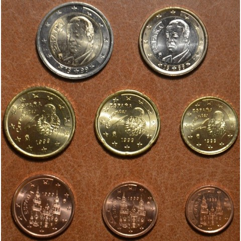 Set of 8 coins Spain 1999 (UNC)
