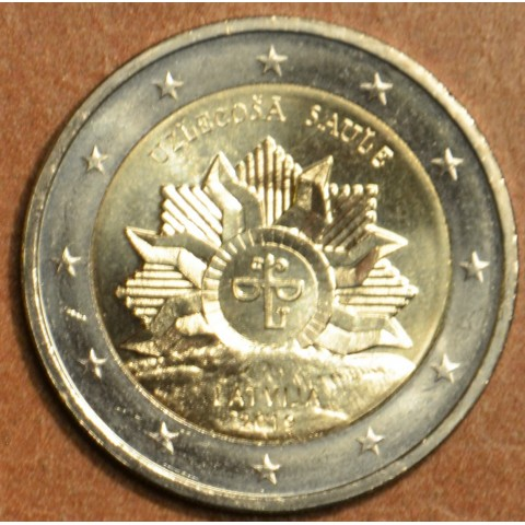 2 Euro Latvia 2019 - Rising sun (UNC)