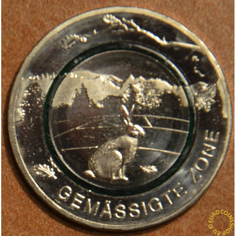 """5 Euro Germany """"G"""" 2019 Moderate Zone (UNC)"""