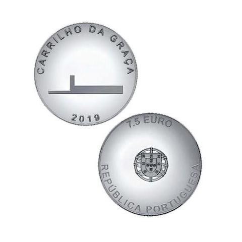 7,5 Euro Portugal 2019 - Carrilho da Graca (UNC)