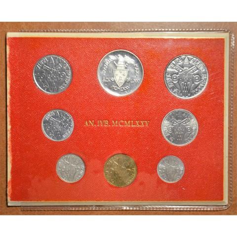 Vatican 8 coins 1975 II (BU)