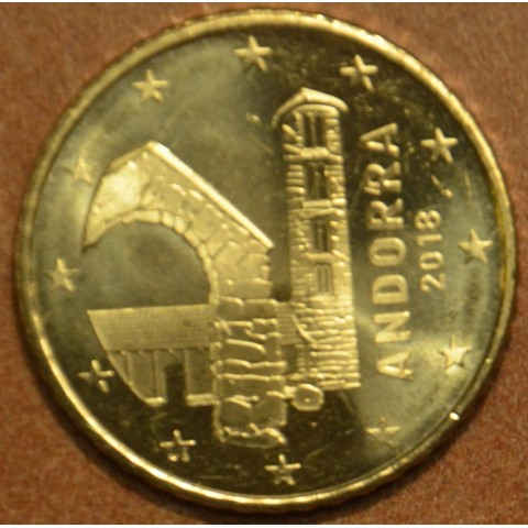 50 cent Andorra 2018 (UNC)