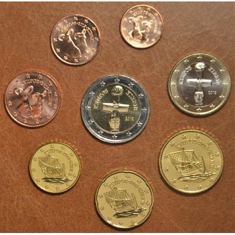 Set of 8 eurocoins Cyprus 2019 (UNC)