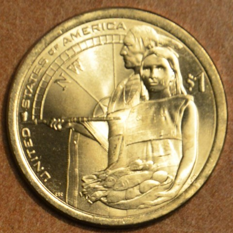 "1 dollar USA ""D"" 2014 Native Hospitality (UNC)"