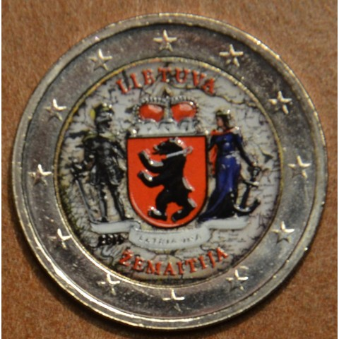 2 Euro Lithuania 2019 - ZEMAITIJA II. (colored UNC)