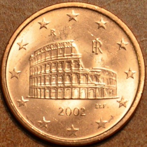 1 cent Italy 2002 (UNC)